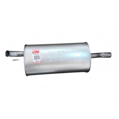 Глушитель Фиат Добло (Fiat Doblo) 1.6i/1.9 Diesel 00-09 (148-343) Bosal 07.414 алюминизированный