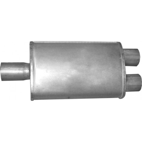 Бочка глушителя универсальная ( 280x180x95 ; 3xd=55 )