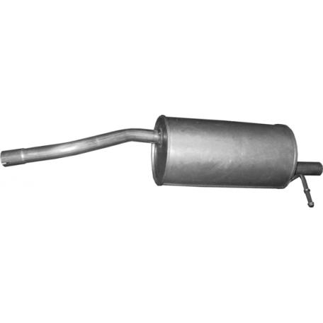 Глушитель Дачия Сандеро (Dacia Sandero) 1.4/1.6 07-13 (02.00) Polmostrow алюминизированный