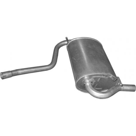 Глушитель Дачия Дастер (Dacia Duster) 1.6 10 - (02.18) Polmostrow алюминизированный