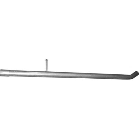 Труба средняя Дачия Дастер (Dacia Duster) 1.5D 10 - (02.21) Polmostrow алюминизированная
