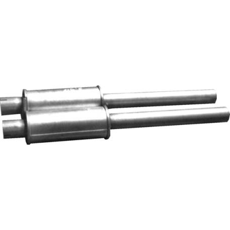 Резонатор BMW 7 E65/E66 3.6/4.4 01- (03.13) Polmostrow алюминизированный