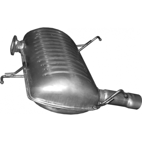 Глушитель БМВ 3 Е90/Е91 (BMW 3 Е90/Е91) 2.0 05-12 (03.14) Polmostrow алюминизированная
