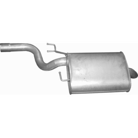 Глушитель BMW 5 Е39 520i/523i 95-98 (03.34) Polmostrow алюминизированный