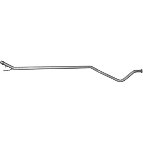 Труба средняя Ситроен С4/Пежо 308 (Citroen C4/Peugeot 308) 1.6 Turbo Diesel 07-13 (04.11) Polmostrow алюминизированная