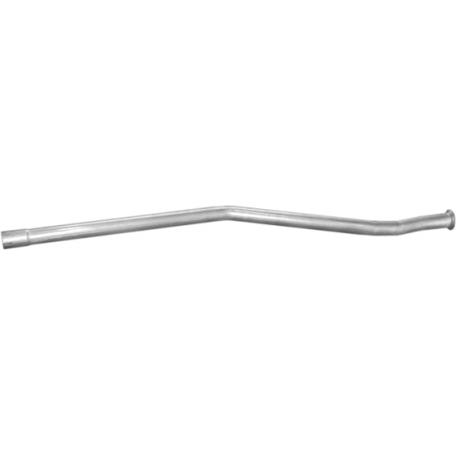 Труба Ситроен АХ (Citroen AX) 1.0i/92 -99; 1.1/86 -92; 1.4/86 -95 (04.151) Polmostrow алюминизированный