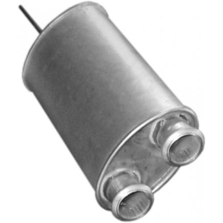 Резонатор Ситроен БХ (Citroen BX) 1.6/1.9/1.8TD HB/1.8TD kombi 85-94 (04.18) Polmostrow алюминизированный