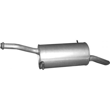 Глушитель Citroen Berlingo/Peugeot Partner 1.6 HDi 05/08-10/10 (04.21) Polmostrow алюминизированный