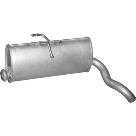 Глушитель Ситроен Берлинго (Citroen Berlingo) / Пежо Партнер (Peugeot Partner) 1.8D; 1.9D 96 (04.232) Polmostrow алюминизированный
