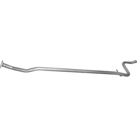 Труба глушителя середня Citroen C2 1.1 (04.271) Polmostrow алюминизированный