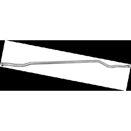 Труба средняя Ситроен Саксо (Citroen Saxo) 1.1i 1.4i 00 -04 (04.277) Polmostrow алюминизированный