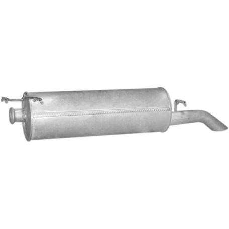 Глушитель Ситроен Ксантия (Citroen Xantia) 1.8 KOMBI 96-01 (04.278) Polmostrow алюминизированный