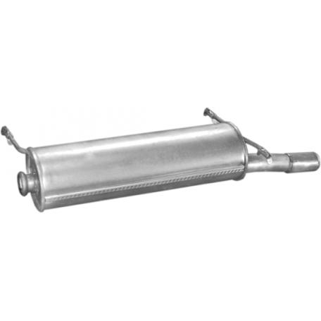 Глушитель Ситроен Ксара (Citroen Xsara) 1.4i; 1.6i -16V 09/00 - hatchback (04.285) Polmostrow алюминизированный