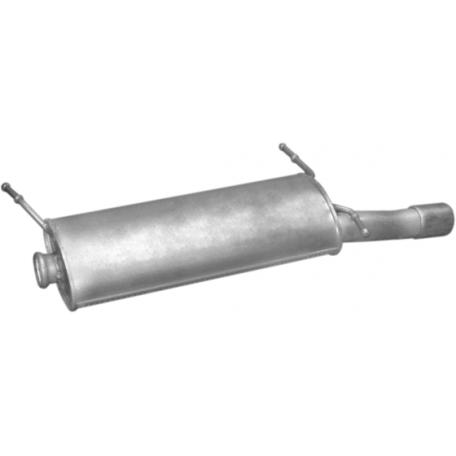 Глушитель Ситроен Ксара (Citroen Xsara) 1.9 SD/TD 2.0 HDi 97-04 (04.289) Polmostrow алюминизированный
