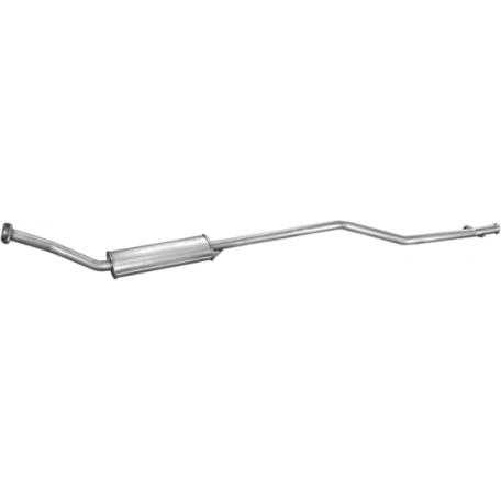 Резонатор Ситроен Ксара Пикасо (Citroen Xsara Picasso) 1.6i 00- (04.294) Polmostrow алюминизированный