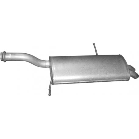 Глушитель Пежо 5008 (Peugeot 5008) 2.0 HDi 06 -  (04.30) Polmostrow алюминизированный