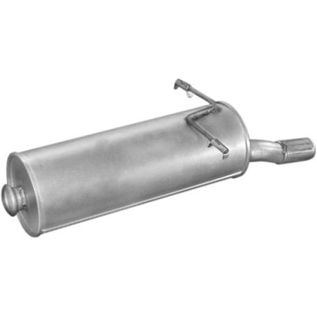 Глушитель Ситроен Ксара Пикасо (Citroen Xsara Picasso) 1.8i -16V 12/99 - (04.312) Polmostrow алюминизированный