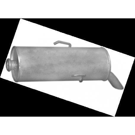 Глушитель Ситроен Саксо (Citroen Saxo) / Пежо 106 (Peugeot 106) 1.1/1.4i 00-04 (04.313) Polmostrow алюминизированный