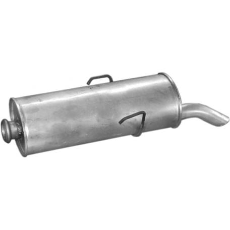 Глушитель Ситроен Саксо (Citroen Saxo) 1.0i / 1.1i / 1.4i / 1.6i / 1.5D 96- (04.42) Polmostrow алюминизированный