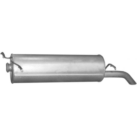 Глушитель Ситроен Ксантия (Citroen Xantia) 1.9 / 2.0 / 2.1 D KOMBI 95-02 (04.63) Polmostrow алюминизированный