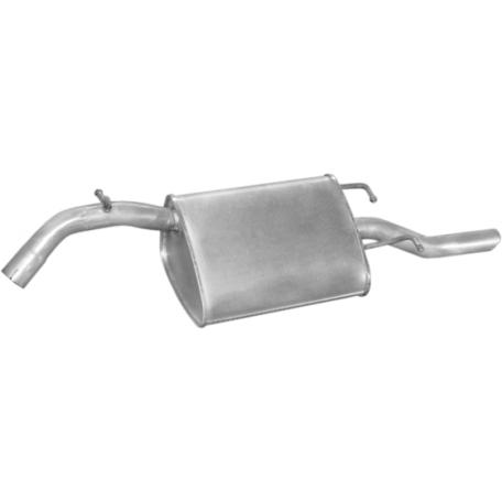 Глушитель ДЭУ Нубира (Daewoo Nubira) (05.24) II 2.0 99- Польша Polmostrow алюминизированный