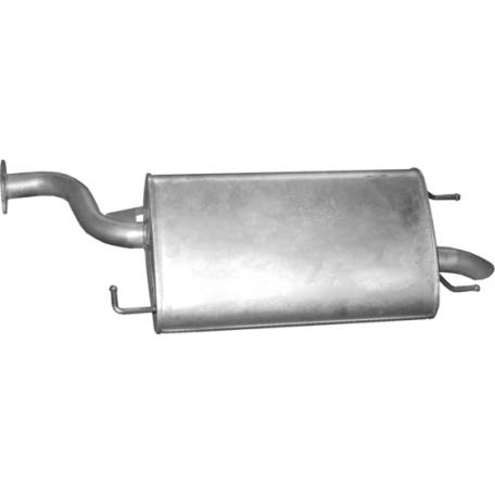 Глушитель ДЭУ Эванда (Daewoo Evanda) 05.29 Польша Polmostrow алюминизированный