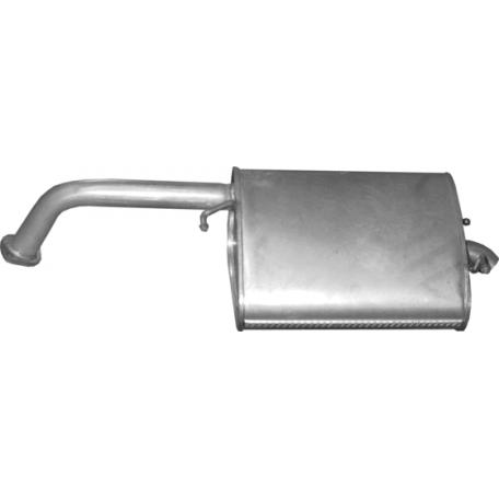 Глушитель Шевроле Лачетти (Chevrolet Lacetti) 1.4/1.6 Хэтчбек (05.57) алюминизированный Polmostrow