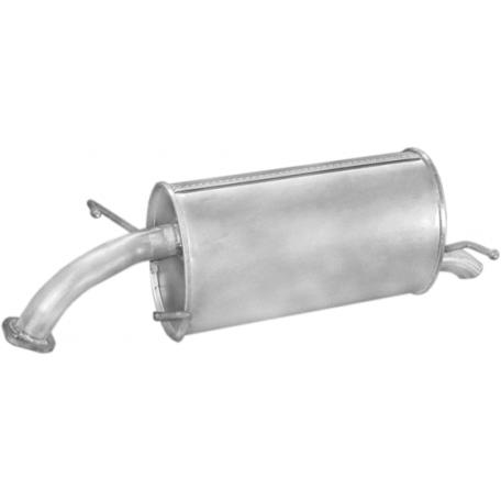 Глушитель Шевроле Авео (Chevrolet Aveo) (05.59) Хэтчбек Polmostrow алюминизированный