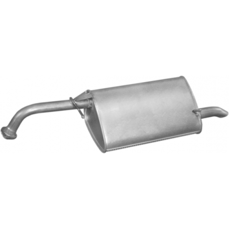 Глушитель Шевроле Лачетти (Chevrolet Lacetti) (05.62) алюминизированный Polmostrow