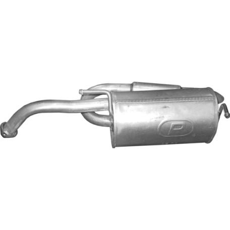 Глушитель ДЭУ Матиз (Daewoo Matiz) 0.8/1.0 05-10 (05.70) Польша Polmostrow алюминизированный