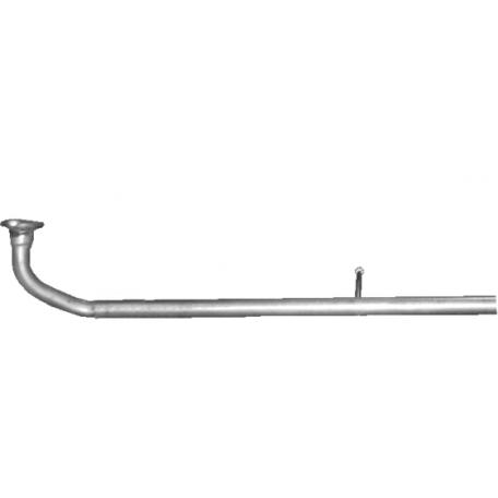 Труба приемная Даихатсу Куор/Домино/Мов (Daihatsu Cuore/Domino/Move) 1.0 98-00 (06.09) Polmostrow алюминизированная