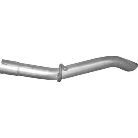 Глушитель Фиат Ритмо (Fiat Ritmo) 1.1/1.3 60/70 82-89 (07.11) Polmostrow алюминизированный