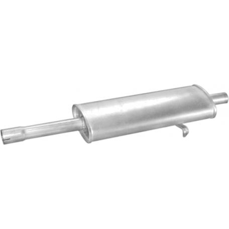 Резонатор Фиат Типо (Fiat Tipo) 88-94 1.7D (07.126) Polmostrow алюминизированный