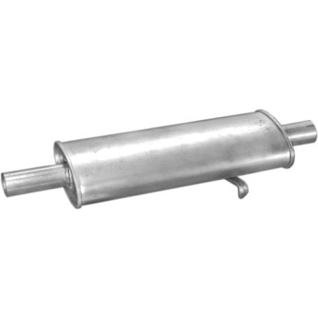 Резонатор Фиат Браво (Fiat Bravo) 95- 1.9D (07.29) Polmostrow алюминизированный