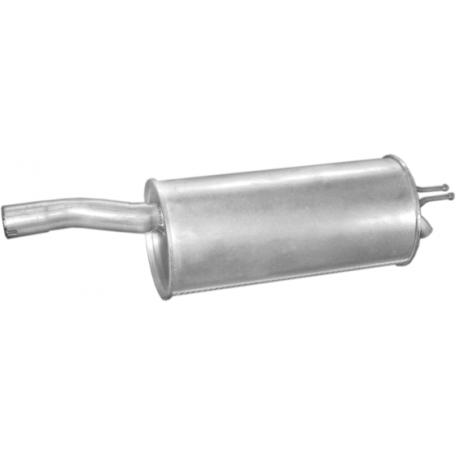 Глушитель Фиат Добло (Fiat Doblo) 1.9 JTD 00- (07.451) Polmostrow алюминизированный