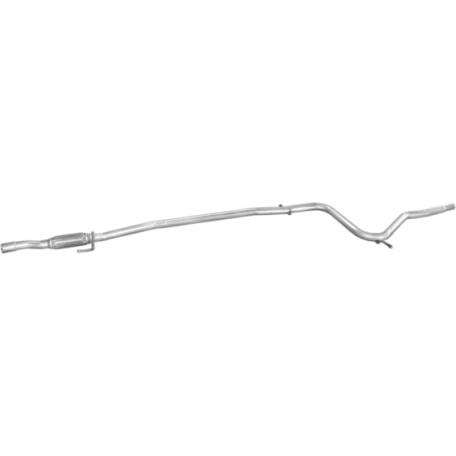 Труба средняя Фиат Палио (Fiat Palio) 1.2 -8V 06/01-03 (07.456) Polmostrow алюминизированный