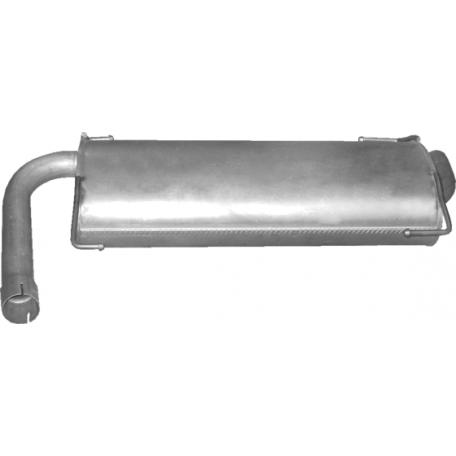 Глушитель Пежо Боксер (Peugeot Boxer) 3.0 HDi 2011 -  (07.86) Polmostrow алюминизированный