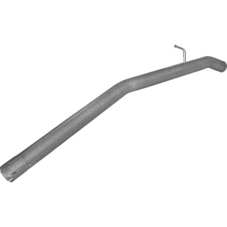 Труба конечная Пежо Боксер (Peugeot Boxer) 3.0 HDi 2011 -  (07.87) Polmostrow алюминизированный