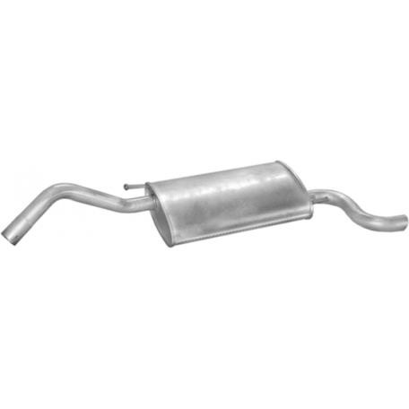 Глушитель Форд Фиеста (Ford Fiesta) 95-98 1.3I Courier kat (08.179) Polmostrow алюминизированный