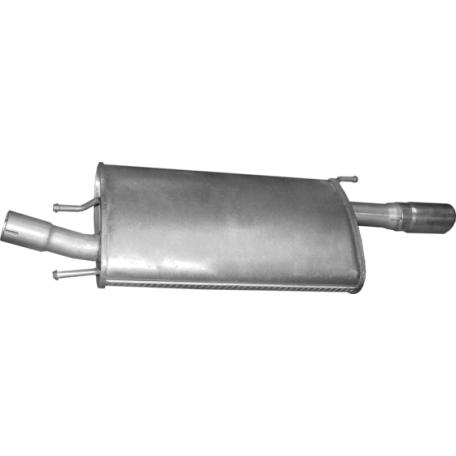 Глушитель Форд Пума (Ford Puma) 1.4 98-01 (08.190) Polmostrow алюминизированный
