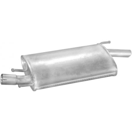 Глушитель Форд Фиеста (Ford Fiesta) / Мазда 121 (Mazda 121) 1.4i / 1.8 D 95-00 (08.213) Polmostrow алюминизированный