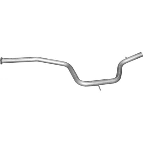 Труба средняя Форд С-Макс (Ford S-MAX) 2.0 D 06 (08.37) Polmostrow алюминизированный