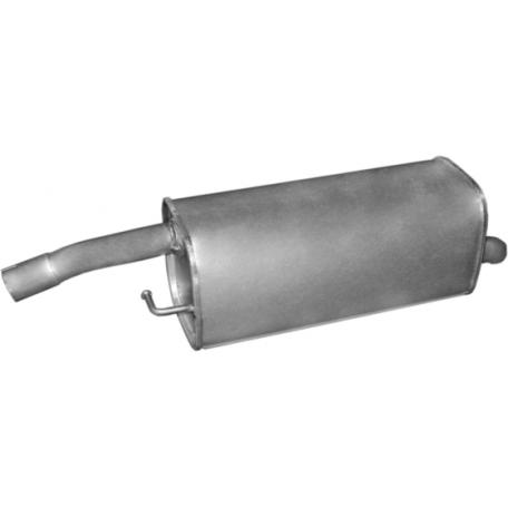 Глушитель Форд Фиеста (Ford Fiesta) / Мазда 2 (Mazda 2) 1.4 TD 01-07 (08.545) Polmostrow алюминизированный