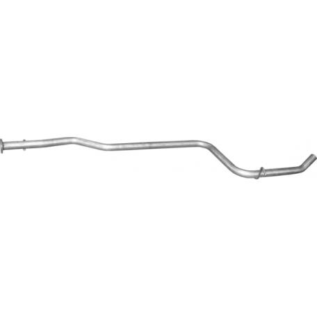 Труба средняя Форд Фиеста Карьера (Ford Fiesta Courier) 98-03 1.8D (08.604) Polmostrow алюминизированный