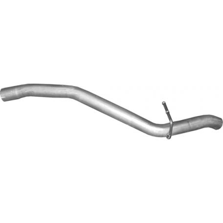 Труба конечная Форд Фокус (Ford Focus) 1.4/1.6/1.8/2.0 04-11 (08.65) Polmostrow алюминизированный
