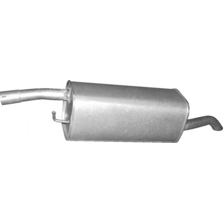 Глушитель Форд Фьюжн (Ford Fusion) 1.6i 02- (08.669) Polmostrow алюминизированный
