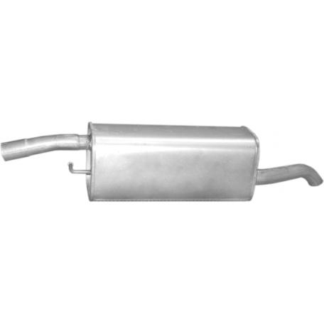 Глушитель Форд Фьюжн (Ford Fusion) 1.4 TDCi Turbo Diesel 05- (08.672) Polmostrow алюминизированный