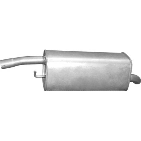Глушитель Форд Фиеста (Ford Fiesta) / Мазда 2 (Mazda 2) 1.6i 01-07 (08.675) Polmostrow алюминизированный