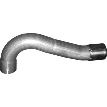Труба приемная Форд Куга (Ford Kuga) 2.0 D 08 - 12 (08.74) Polmostrow алюминизированный