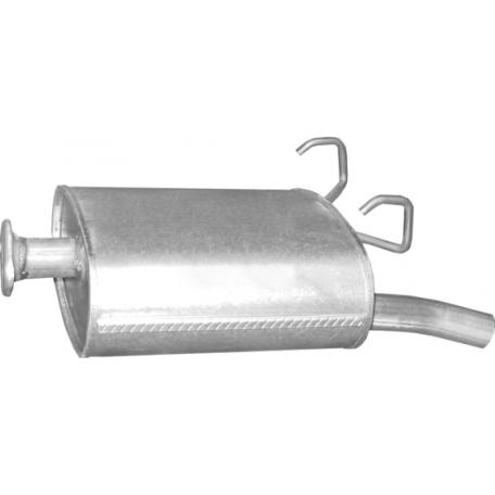 Глушитель Хонда СРВ (Honda CRV) 2.0i-16V 4X4 97-01 (09.06) Polmostrow алюминизированный